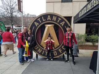 Dia del debut del Atlanta United F.C.