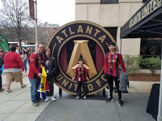Dia del debut del Atlanta United F.C.