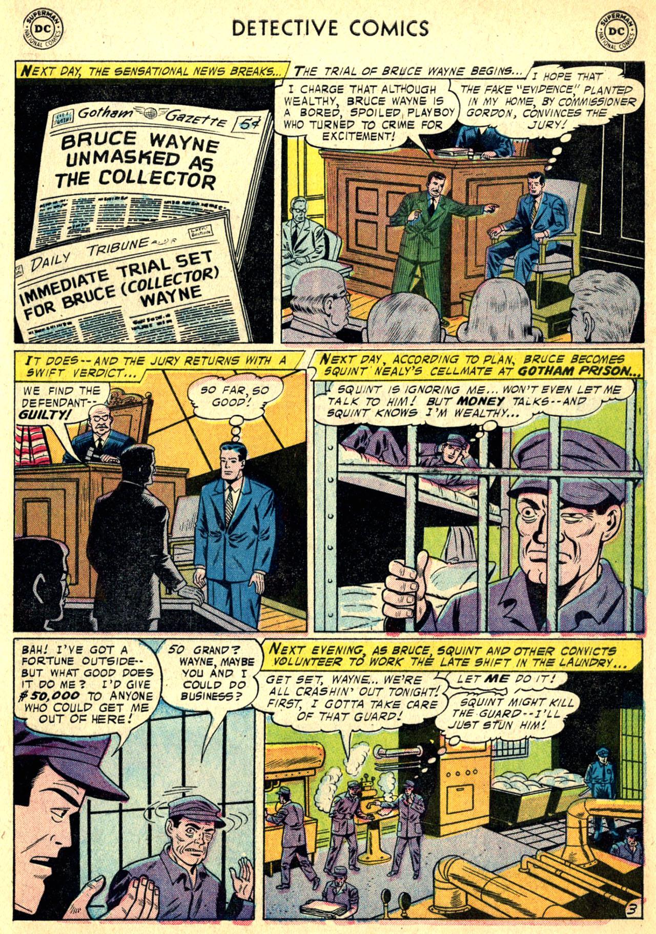 Read online Detective Comics (1937) comic -  Issue #249 - 5