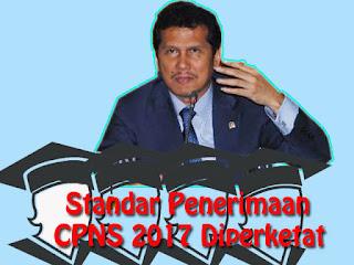 Standar Penerimaan CPNS 2017