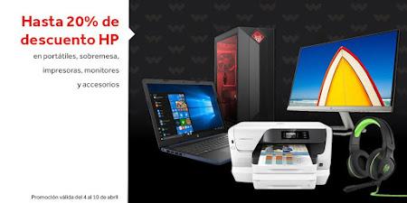 Mejores ofertas Hasta 20% de descuento en HP de Worten