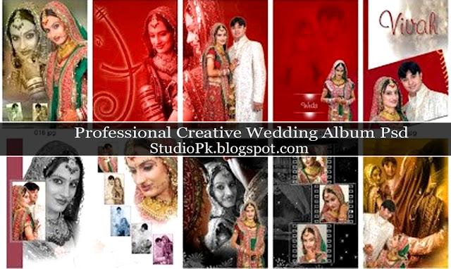 marriage album design psd files