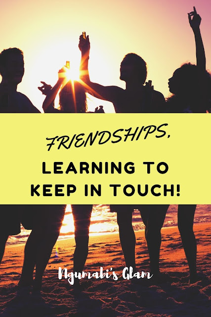 Friendships || Learning to Keep In Touch