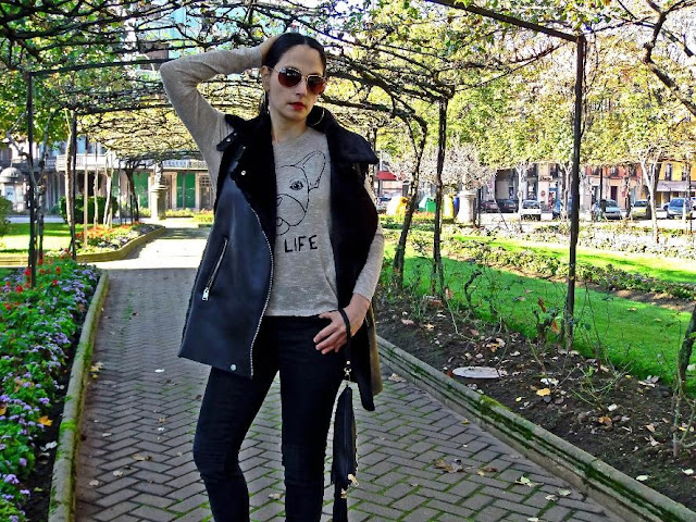 look, fashion, cool, chic, rock, casual, outfit