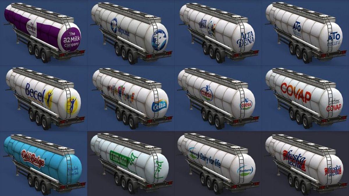 Milk Trailers Pack