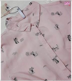 bershka gömlek, bershka shirt, kedili gömlek, cats shirt, cat clothing, cat lover clothing, cat lady, bershka cats shirt, pink shirt, pudra pembesi gömlek, kadın gömleği, bershka new season