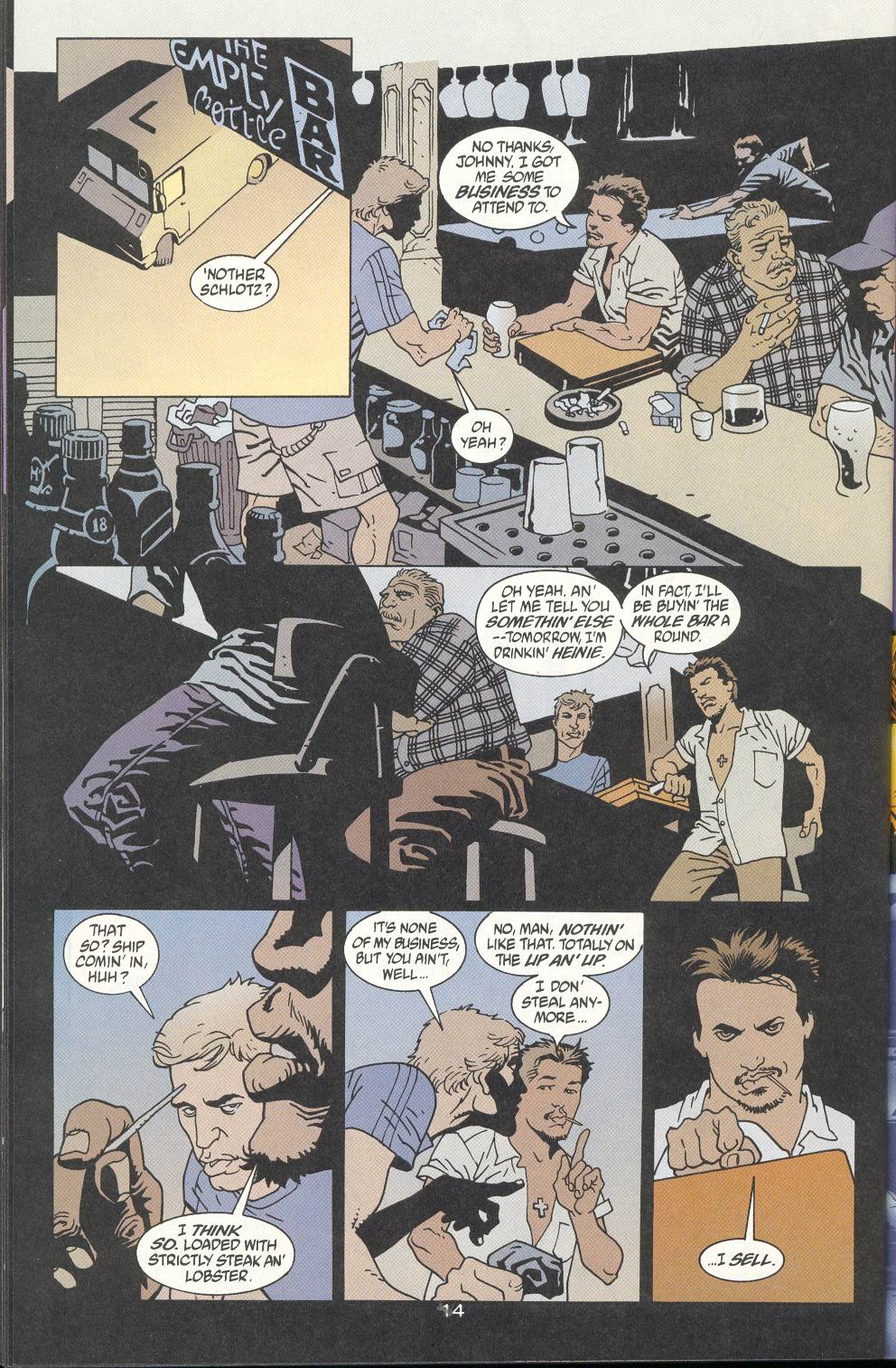 Read online 100 Bullets comic -  Issue #9 - 16