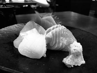 Suju Japanese Restaurant, sashimi