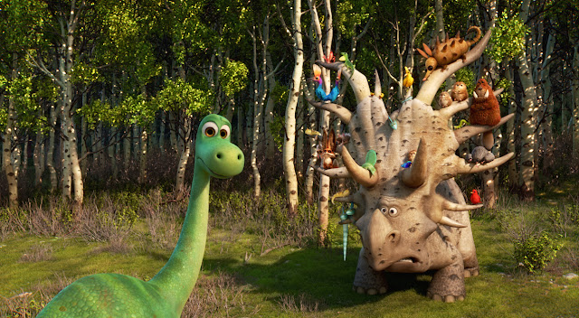 Still shot from The Good Dinosaur