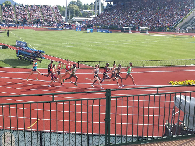 US Track and Field Trials - 5000M men's - Bernard Lagat