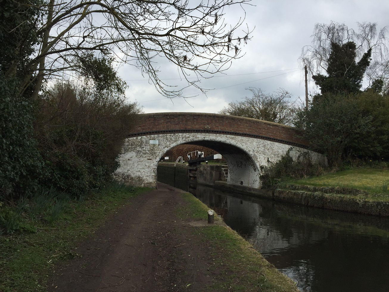Grand Union Canal, near Harefield, on the London Loop Recreational Walk