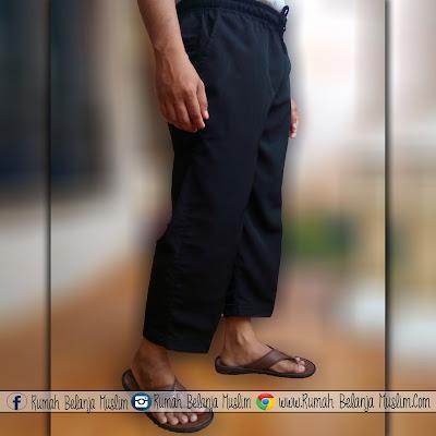 Celana Sirwal Semi Formal Hitam