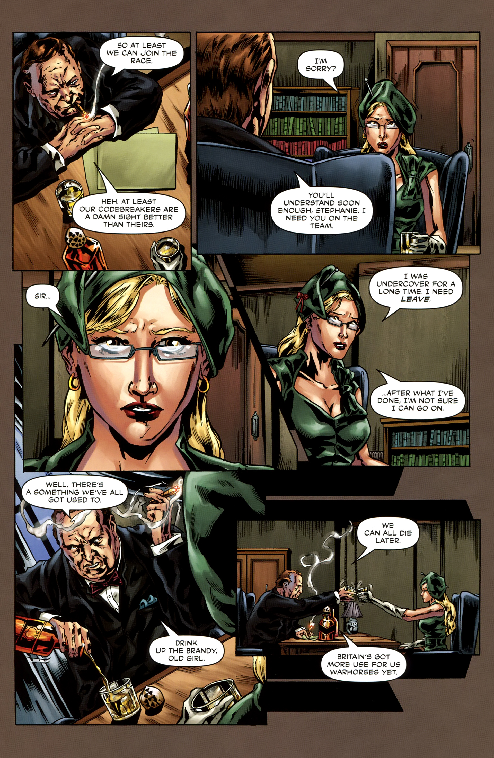 Read online Uber comic -  Issue #3 - 12