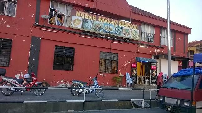 Gambar Murah Berkat Seafood, salah sebuah kedai makan di Salak Tinggi