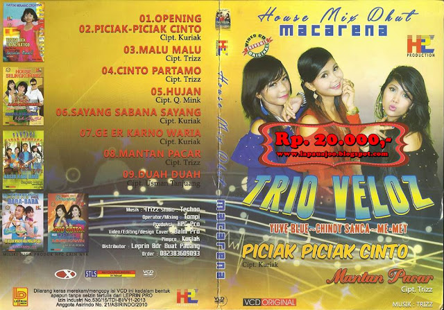 Trio Veloz - Piciak Piciak Cinto (Album House Mix Dhut Macarena)