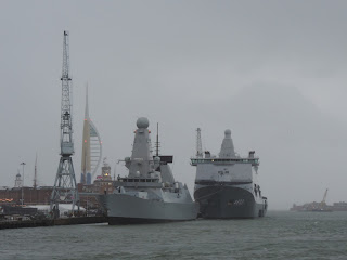 portsmouth harbour naval ships