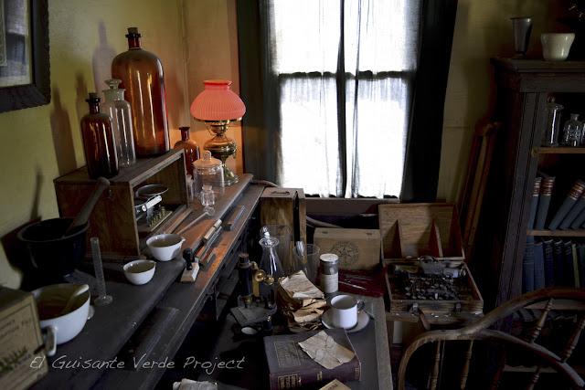 1880 Town - Dakota del Sur, despacho