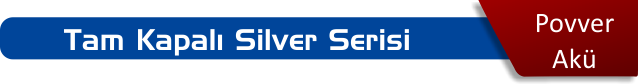 povver akü tam kapalı silver serisi akü fiyatları