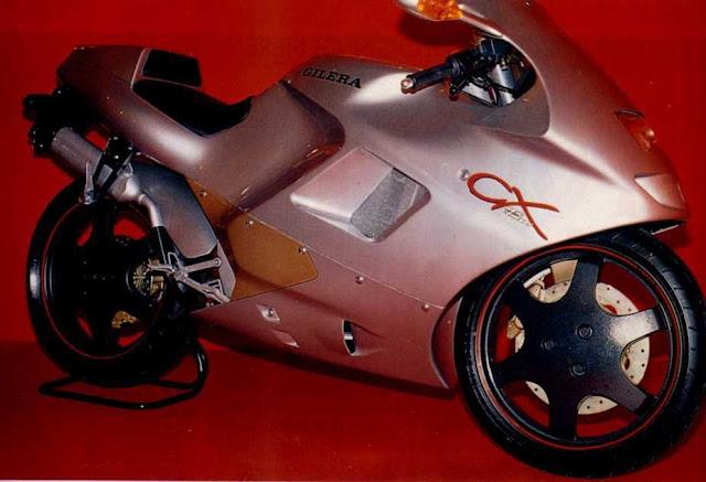 Gilera CX Motorbike Prototype 1989