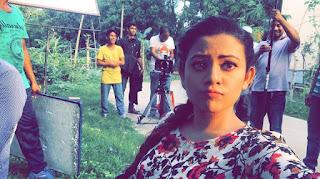Azmeri Asha Bangladeshi Actress Shooting Spot