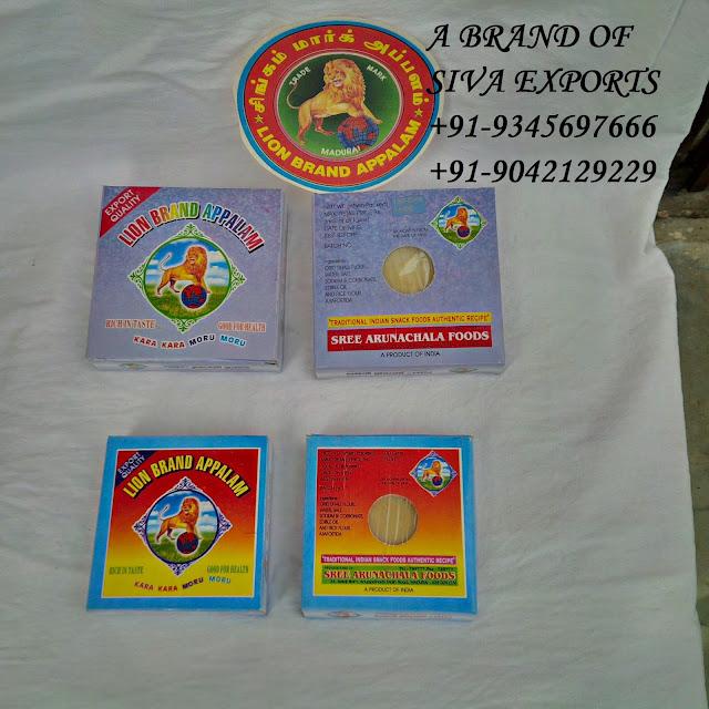 papad manufacturers, appalam manufacturers, papad  manufacturers in india,appalam manufacturers in india, appalam manufacturers in madurai,papad  manufacturers in madurai,appalam manufacturers in tamilnadu,papad manufacturers in tamilnadu,siva exports