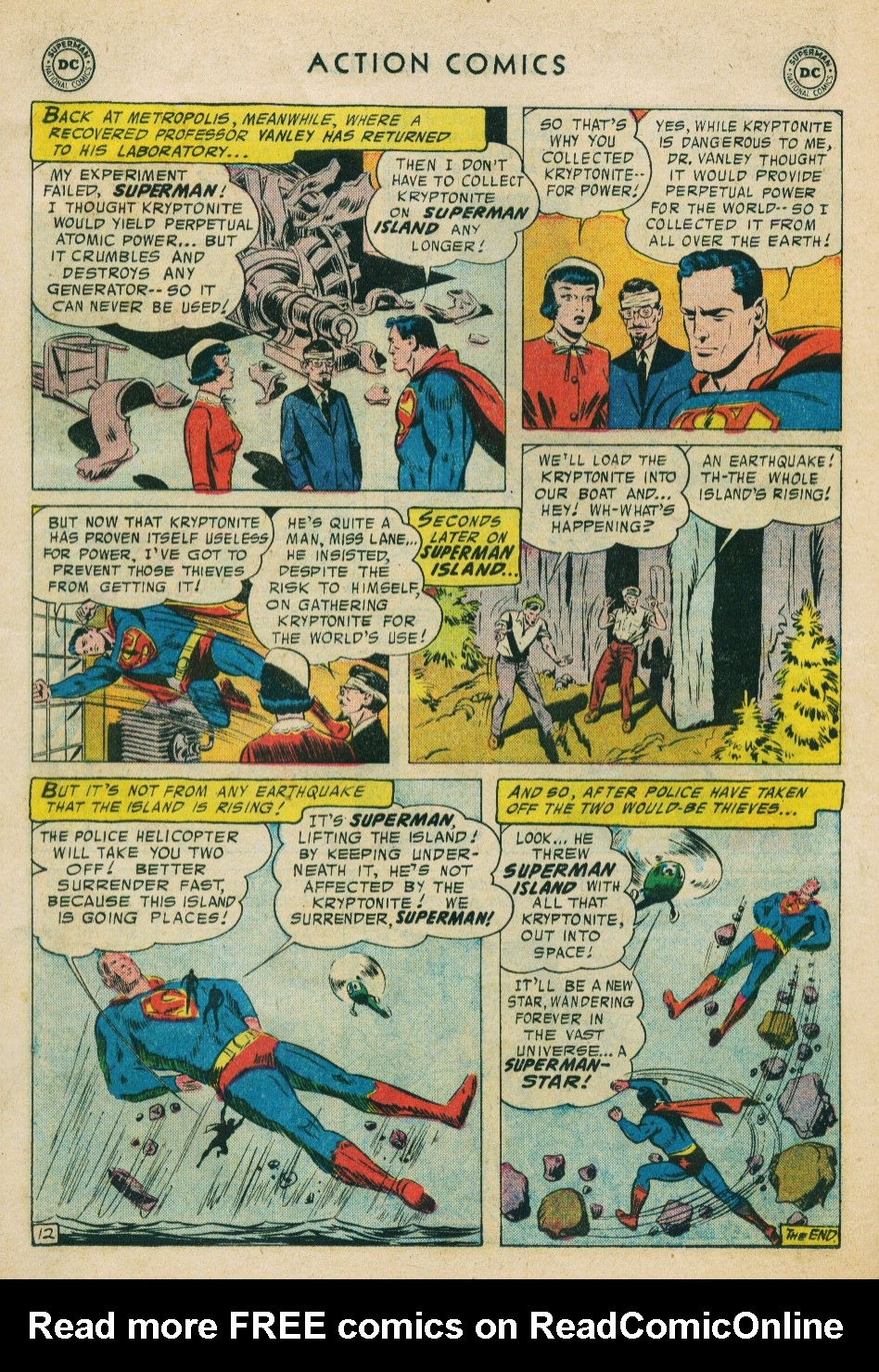 Read online Action Comics (1938) comic -  Issue #224 - 14