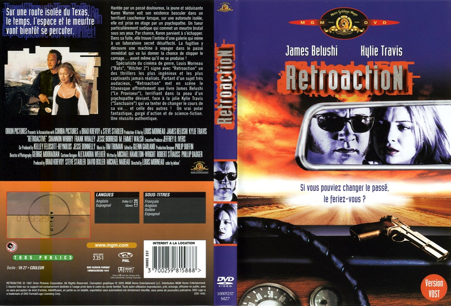 Capa DVD Retroaction