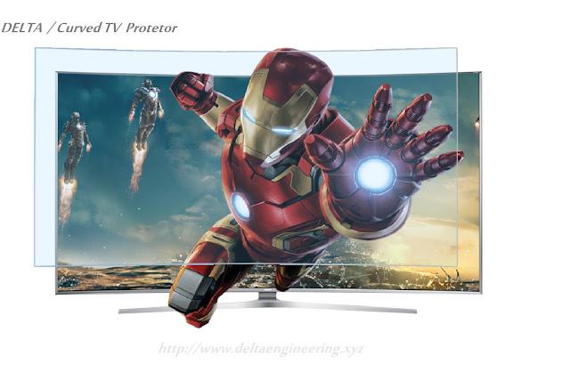 غطاء حماية شاشة تلفزيون 46 بوصة