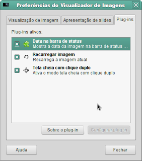Visualizador do Linux Mint