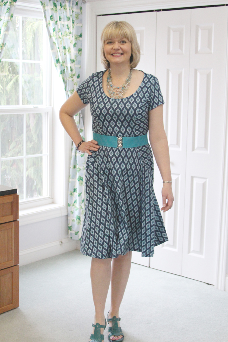 Vogue 8871 Knit Dress - SewBaby News
