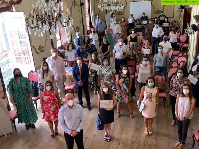 El Ilustre Colegio de Abogados de Santa Cruz de La Palma clausura su Curso de Mediación