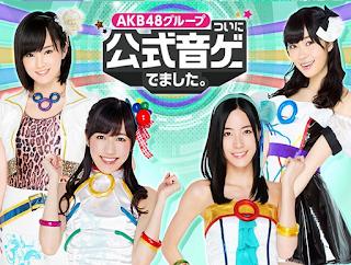 AKB48グループ ついに公式音ゲーでました App