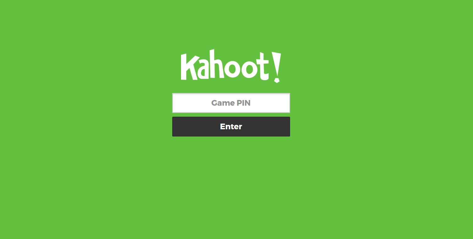 To Go The Web Address Kahootit From There They Are Asked Enter A Code Which Is Made Available On Screen By Person Running Quiz