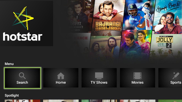 Hotstar Indian Cricket, Movies and Shows