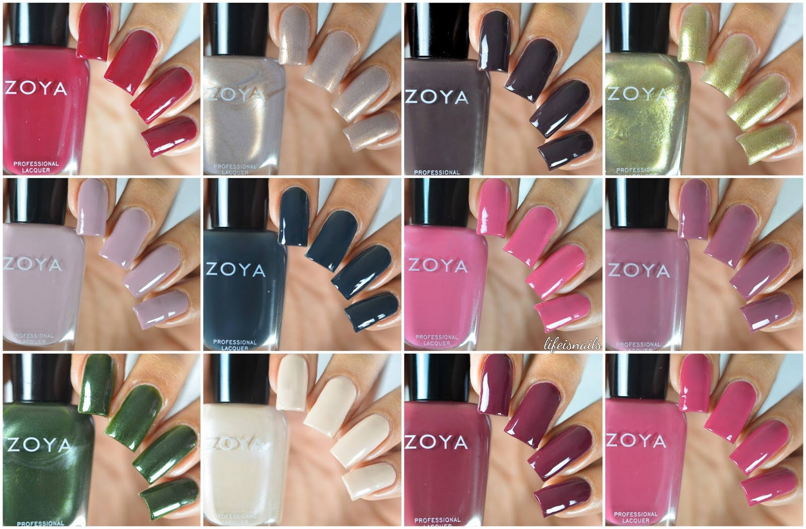 Zoya sophisticates fall 2017 collection swatches review this collection consists of 12 beautiful fall shades in the mix of cremes and metallic shimmers the formula of all the polishes was undoubtedly amazing and reheart Choice Image