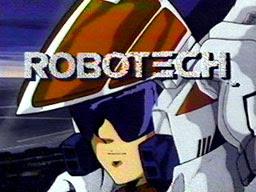 Robotech title screen 1985