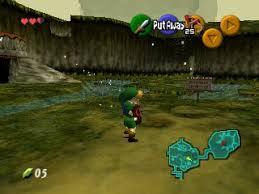 Legend Of Zelda The Ocarina Of Time N64