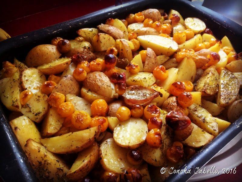 patatas-tometescherrys-chalotas