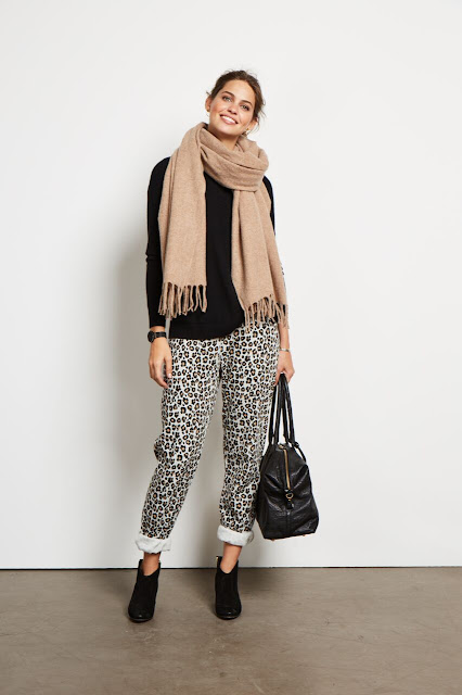 Hush homeward printed leopard joggers