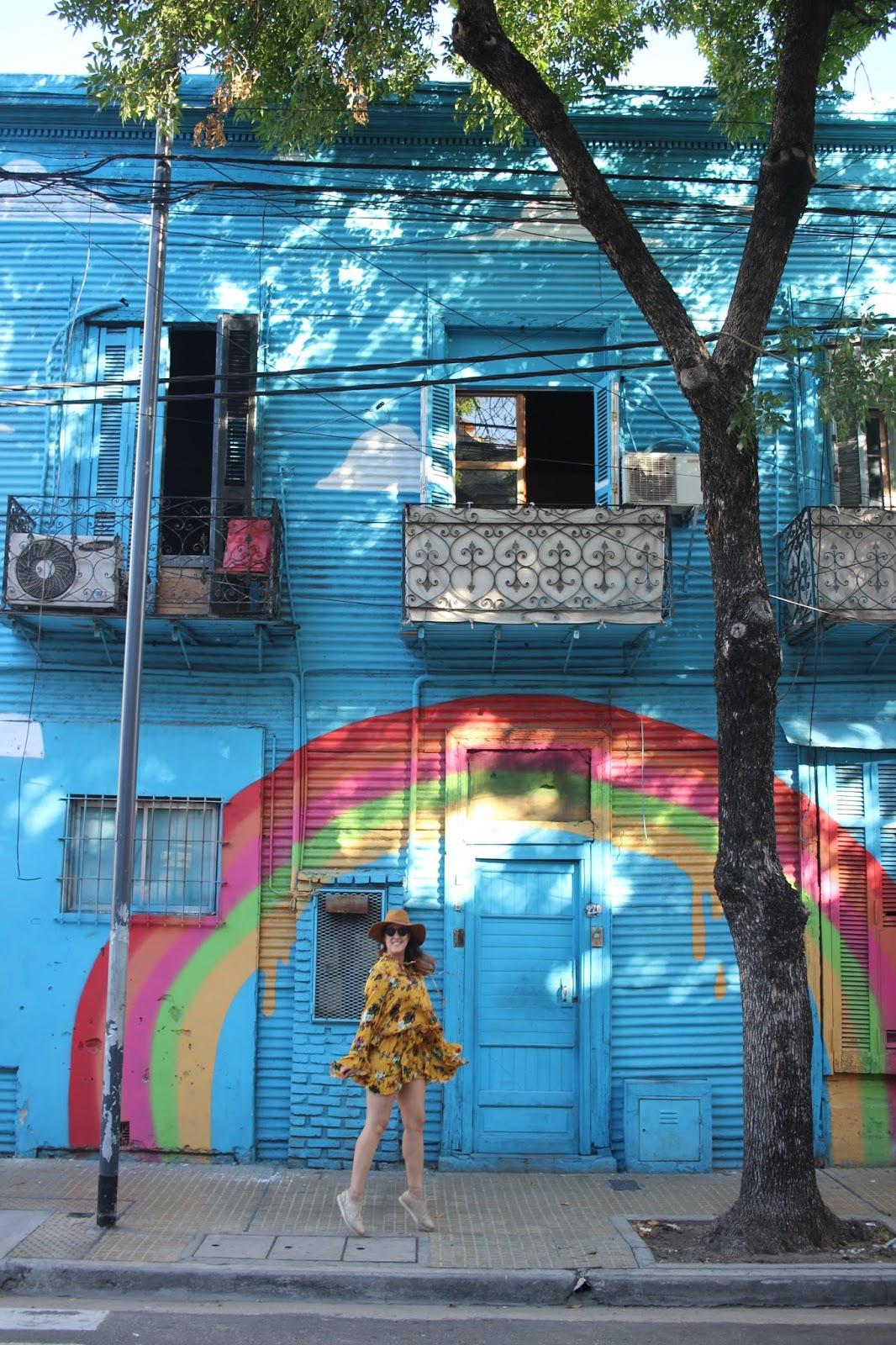 mural arcoiris caba