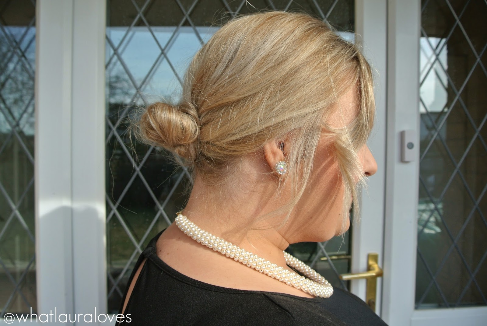 Quick & Easy Messy Up Do Using Fudge Urban Hair Products Fudge Iced Coconut Cocktail Hairspray Fudge Powder Styler