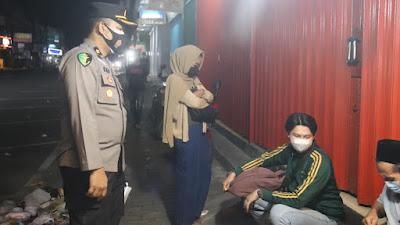 Hari ke-28 PPKM, Tak Kenal Lelah Polda Banten Terus Lakukan Pendisiplinan Warga