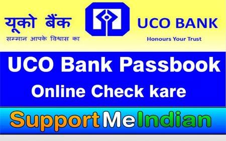 UCO bank Passbook