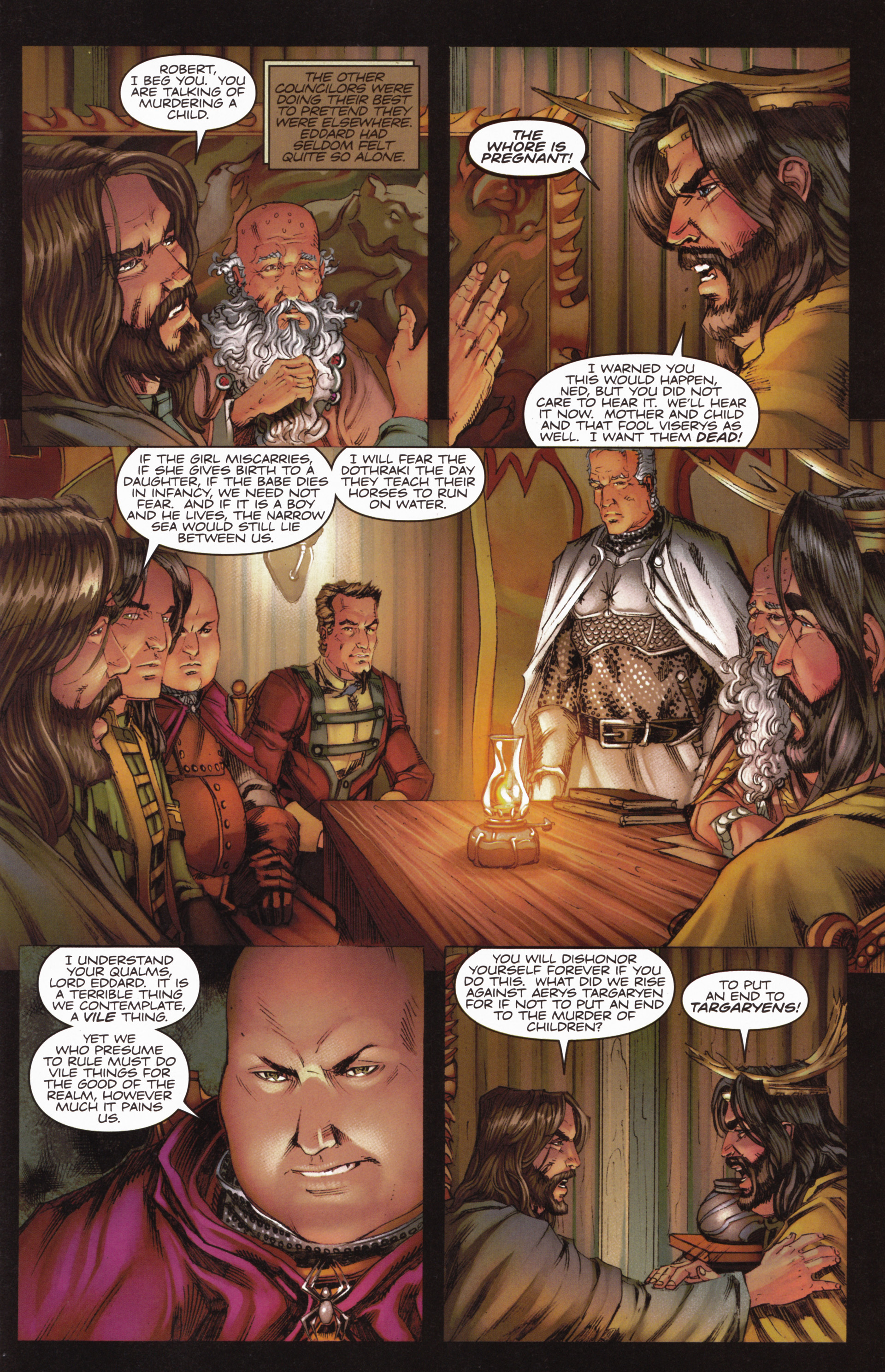 Read online A Game Of Thrones comic -  Issue #10 - 25