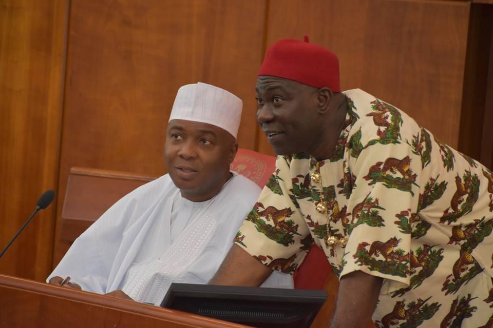 APC senators allowed Ekweremadu to become deputy senate president, says Saraki