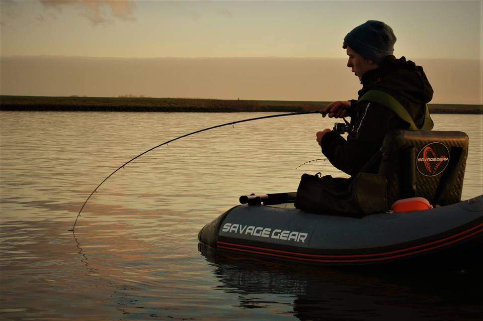 The savage gear high rider belly boat now available for for Belly boat fishing