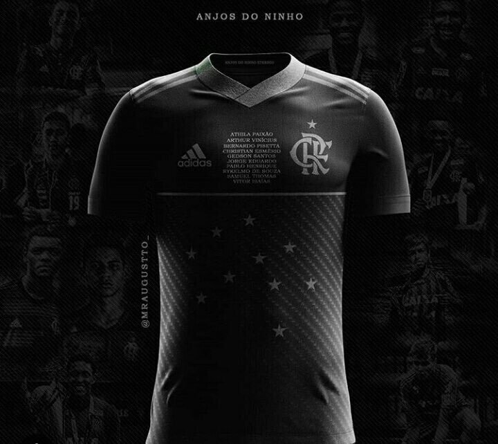 dd59936cd40a3 Torcedores do Flamengo pedem uniforme preto em luto às vítimas de incêndio