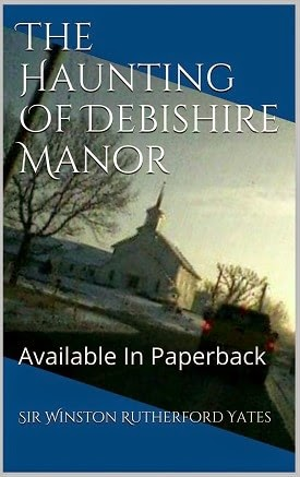 the haunting of debishire manor, haunting book, murder mystery book, knight author