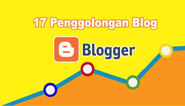 17 Penggolongan Macam-macam Blog