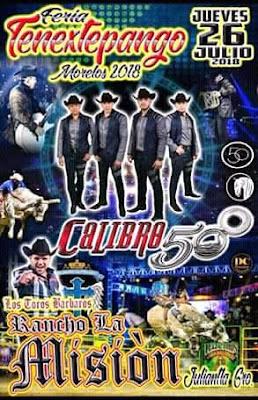 baile feria tenextepango 2018